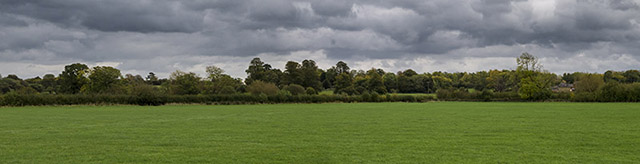 Wolverton Mill Fields Panorama