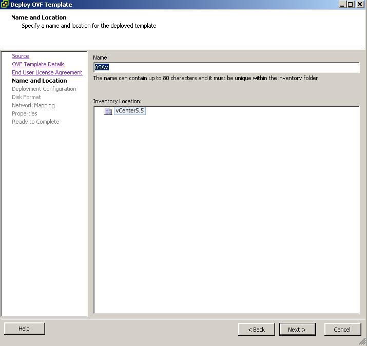 Cisco ASAv 9 4 1 and ASDM 7 4 1 in Workstation / ESXi (2