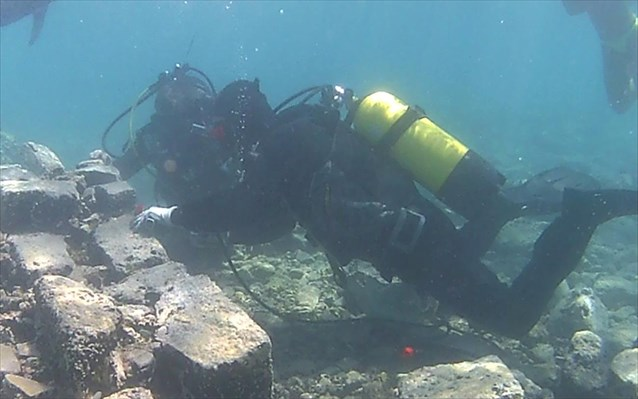 Πιλοτικό πρόγραμμα συντήρησης ενάλιων αρχαιολογικών καταλοίπων πραγματοποιήθηκε στην Παλαιά Επίδαυρο