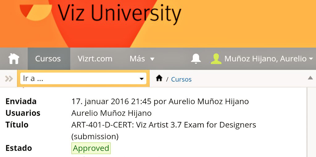Vizrt Certified Pro Viz Artist | Viz Trio ~ Sparanzza com Blog
