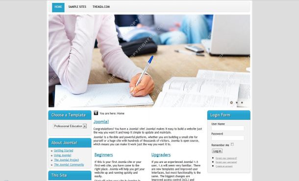 Download free joomla 1. 5 templates.