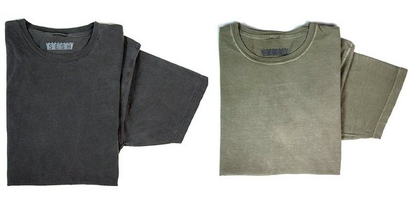 Pigment washed t-shirt