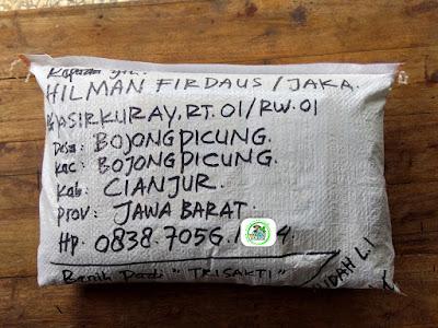 Benih pesanan HILMAN F Cianjur, Jabar.   (Sesudah Packing)