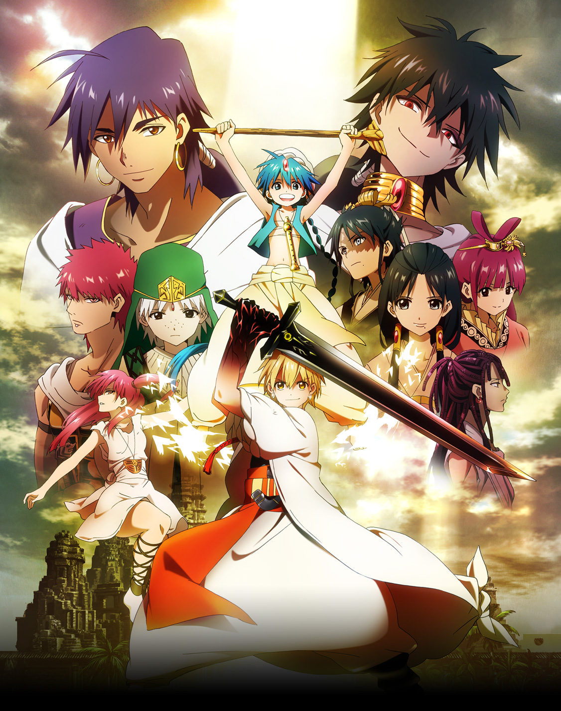 Magi: The Labyrinth of Magic BD Subtitle Indonesia Batch