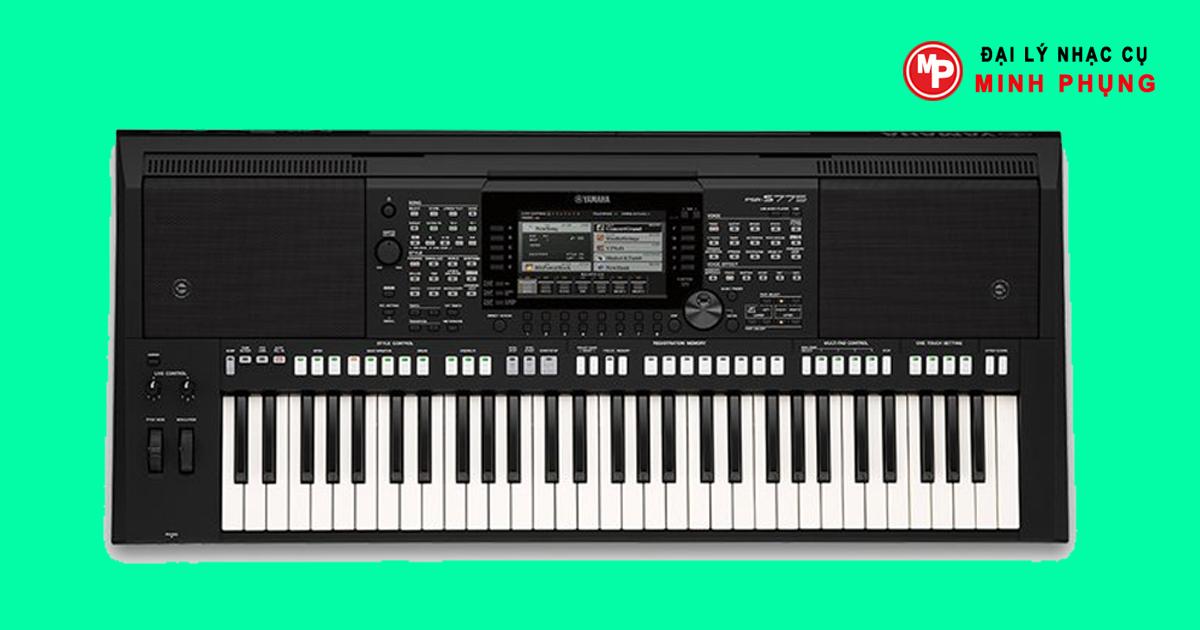 Đàn organ Yamaha Psr S975 Mới được thực hiện thanh Half-fill