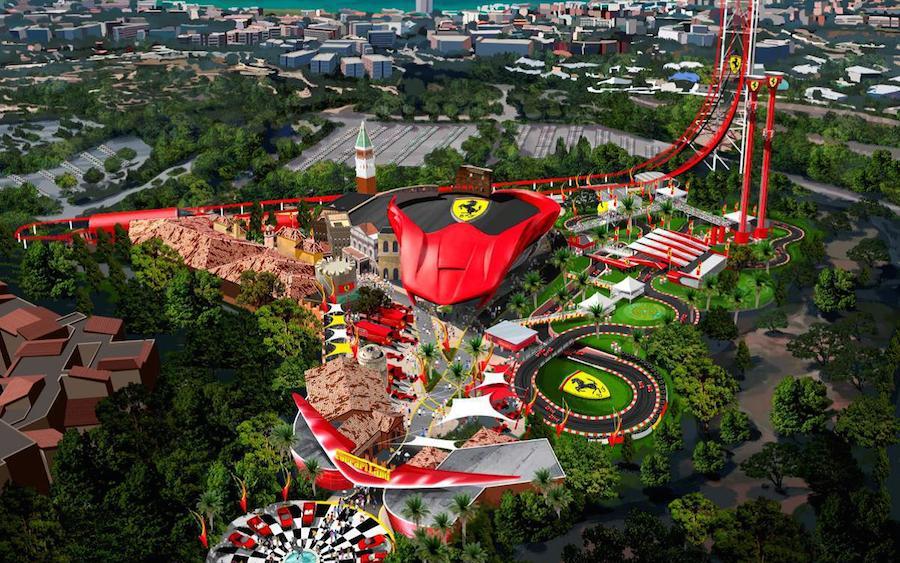 フェラーリ、中国に新たなテーマパークを建設へ。
