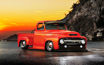racing ford f100 truck
