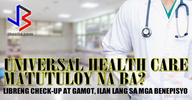 "President Duterte has certified the Universal Health Coverage measure as urgent. This promises to usher in better health and free hospital coverage for Filipinos. The Philippines currently has a hybrid healthcare system called Philhealth, where the government entity under the National Health Insurance Program gives out medical insurance for medical coverage. The current system does not cover all Filipinos. Coverage depends on several factors including economic status.  A proposed law in the Senate aims to enhance and rename the National Health Insurance Program, established by Republic Act 7875 or the National Health Insurance Act of 2013, into the National Health Security Program, as a mechanism for citizens to gain financial access to health services. This will reorganize the Philippine Health Insurance Corporation (PhilHealth) into the Philippine Health Security Corporation, which will serve as the national purchaser of health services.    The House of Representatives already passed House Bill 5784, also known as the ""Universal Health Coverage Act."" Three versions in the Senate have also been passed: Senate Bills 1458, 1673, and 1714. If all goes well, we could very well see the first steps toward Universal Health Coverage (UHC) by next year, with several key components up and running by the end of the Duterte administration.    So what is the promise of UHC for Filipinos?    The new proposal aims to fill in the many health care gaps in the current system. A large portion of the population remains uncovered in PhilHealth. UHC proposes the automatic inclusion of every Filipino into the National Health Security Program.    Many medical services are not available or covered in the current insurance packages. Under UHC, all medical services are considered covered by default, unless specified otherwise. Only selected procedures will not be included.    Additionally, the level of coverage provided in the current system is not always sufficient to cover the medical expense of some major health care cases. UHC reorients the health system toward primary care and service delivery networks. Every Filipino will be assigned a primary care provider, who serves as the first point of contact in the health system and addresses general health needs. It also proposes to vastly expand the financing of health services.    Once enacted into law, the UHC will guarantee the right to health by providing primary care to all Filipinos including free medicine for all."