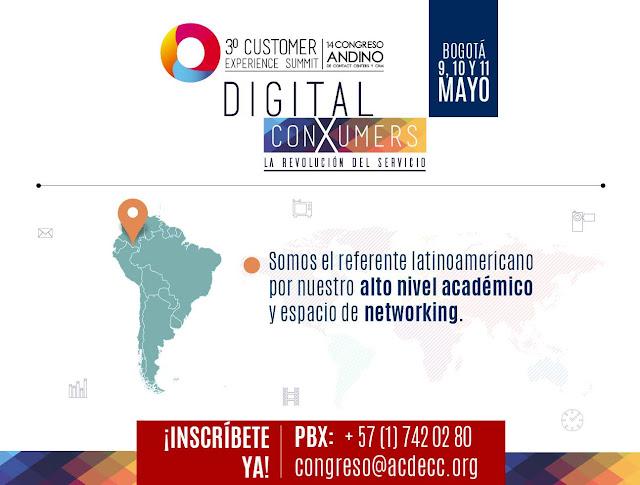 #Colombia #CXSummit2017  | 14° Congreso ANDINO de Contact Centers y CRM