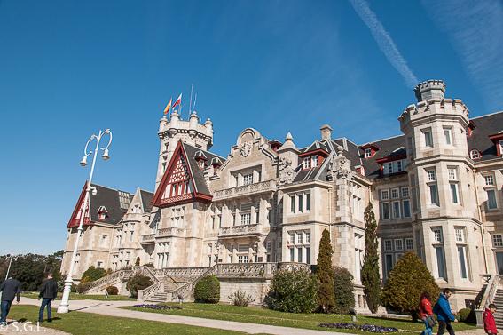 Un dia en Santander visitando el palacio de la Magdalena