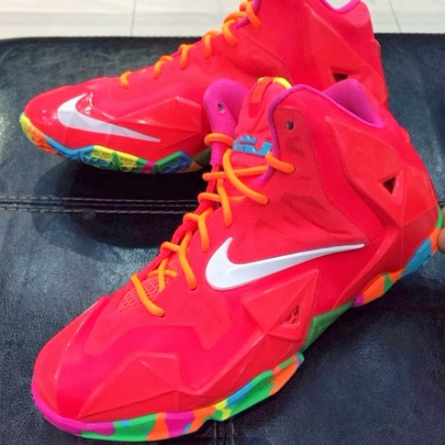 Nike LeBron XI (11) GS 'Fruity Pebbles' | Another Look ... |Lebron 10 Fruity Pebbles