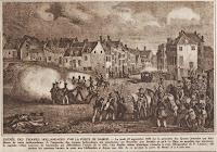 Hollandse troepen nabij de Naamse Poort op 23 september 1830