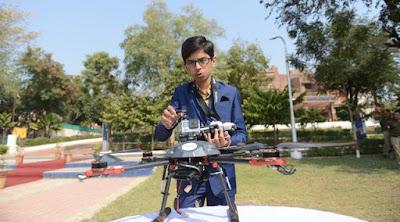 Ciptakan Drone Anti Ranjau, Seorang Anak 14 Tahun Diganjar Uang Rp9,8 Miliar