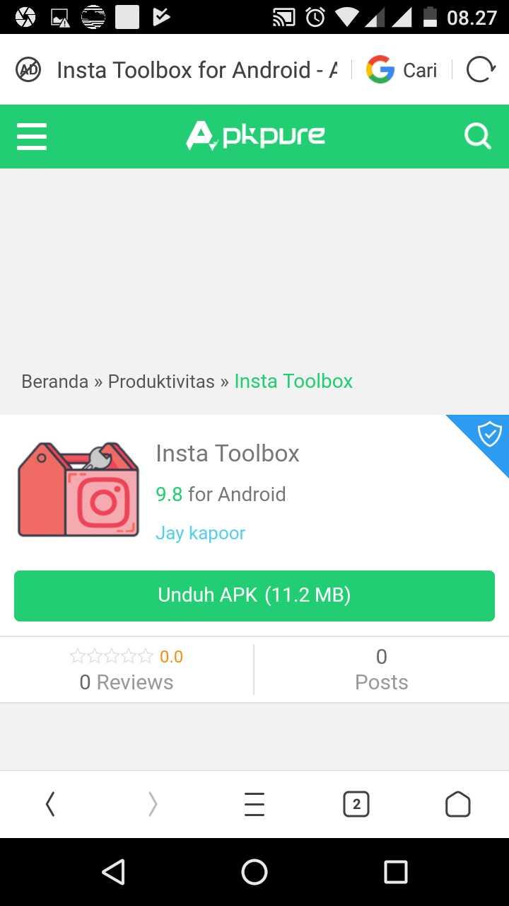 Insta Toolbox - Instagram Followers Hack App Apk