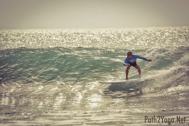 Yoga Helps to Learn Surfing Faster