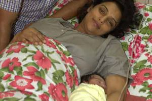shwetha menon delivered a baby girl