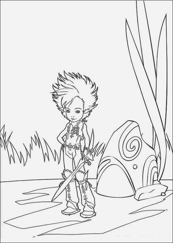spiderwick coloring pages | Spiderwick Chronicles Coloring Pages