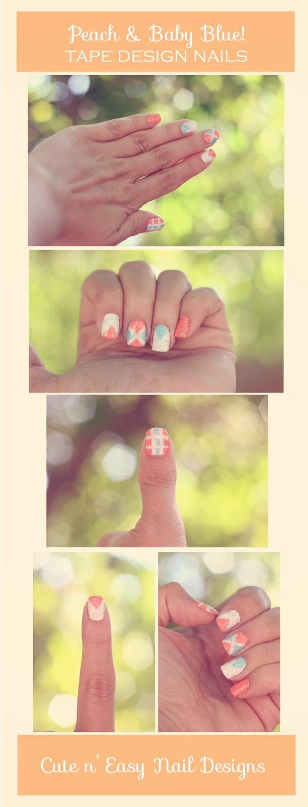 Do It Yourself Design Ideas: Jill And The Little Crown: Cute Nail Designs Using Painter
