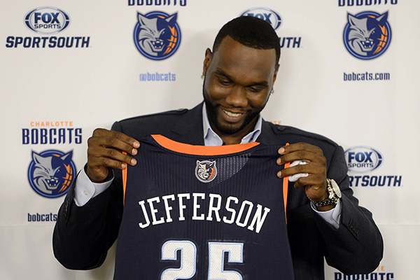 Scott Says Jefferson And Bobcats Make It Official