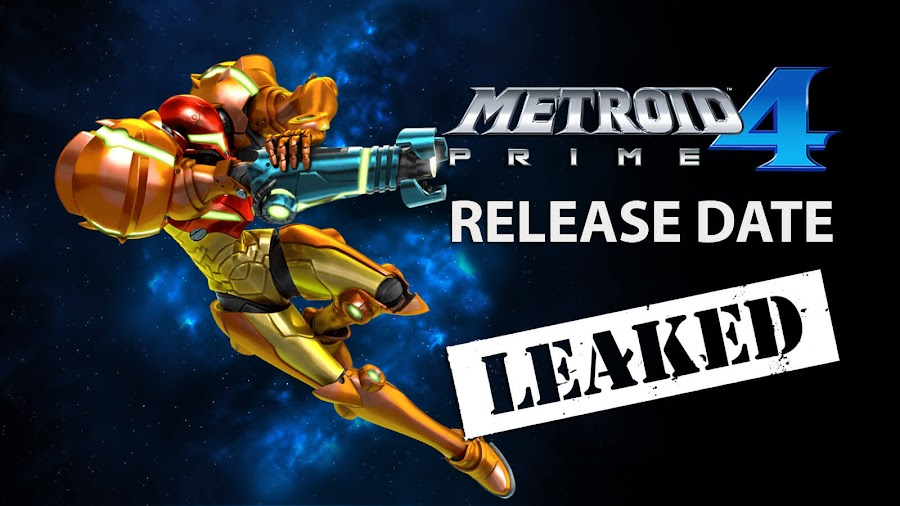 metroid prime 4 release date leak rumor