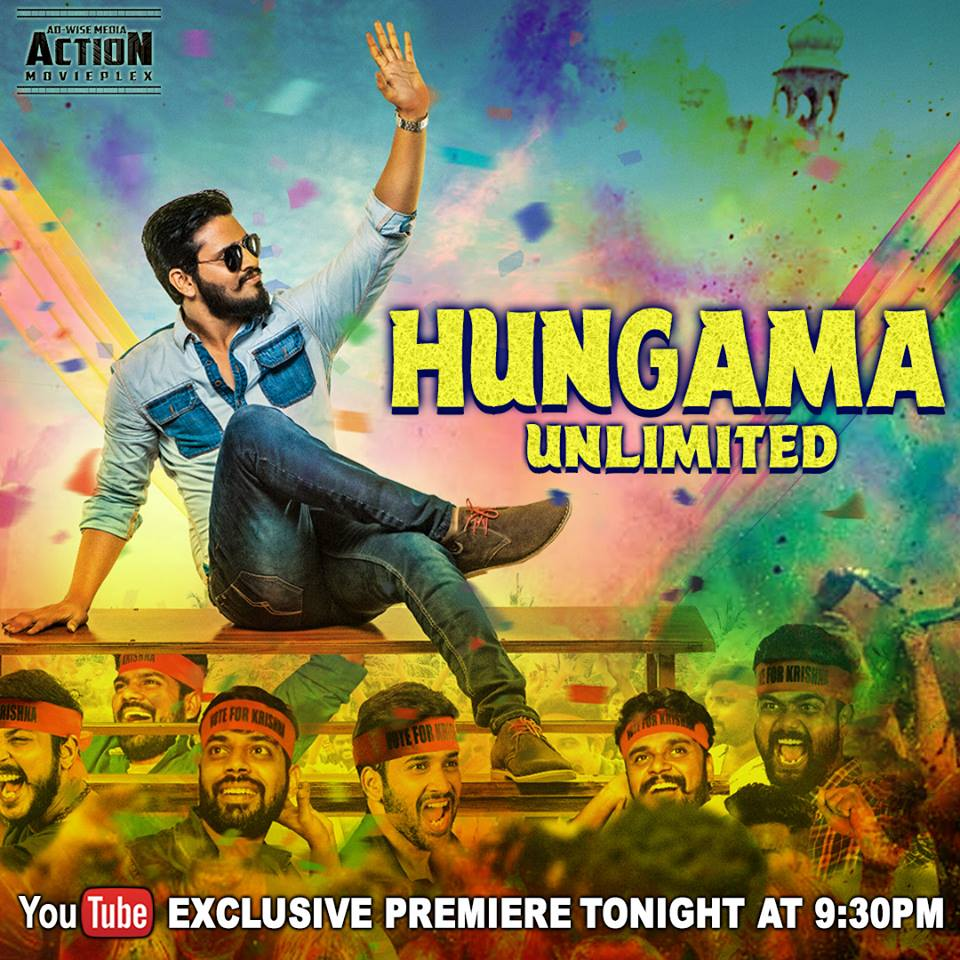 Hungama Unlimited 2018 Hindi Dubbed 450MB HDRip 720p HEVC x265