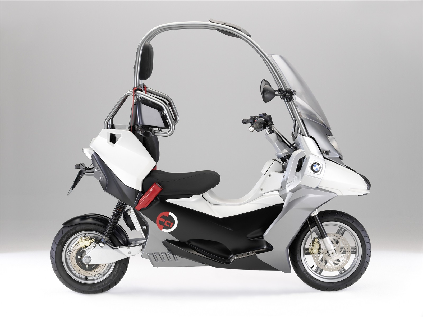 2009 Bmw C1 E Concept Scooter Pictures Accident Lawyers Info