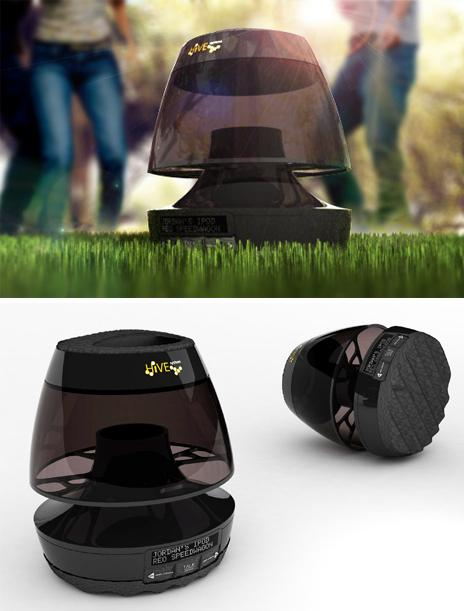 Cool Wireless Speakers and Innovative Bluetooth Speaker Designs (15) 9