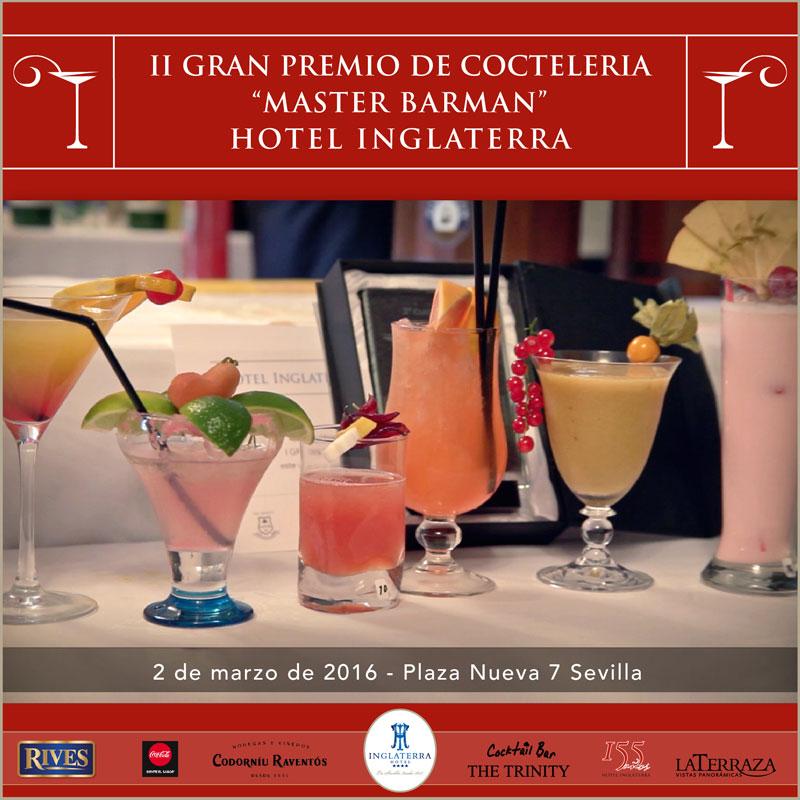 cartel gran premio cocteleria hotel inglaterra sevilla