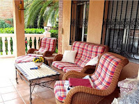 chalet en alquiler zona eurosol benicasim terraza