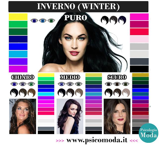 Analisi del Colore: scopri se sei una donna Inverno!