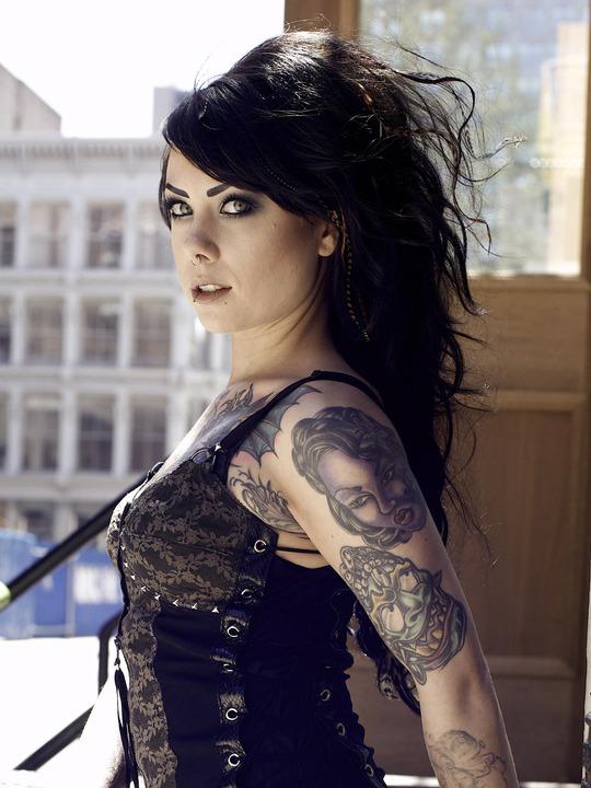 Hula Girl Wallpaper Laraverse Megan Massacre Tattoos Gallery