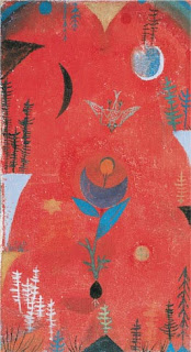 Paul Klee painting - Flower Myth