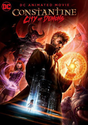 Constantine City Of Demons The Movie 2018 DVD R1 NTSC Latino