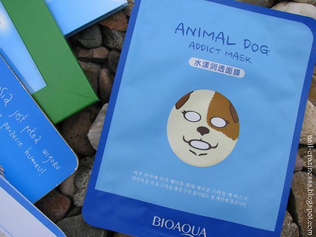 Bioaqua maska w płachcie