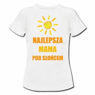 koszulka najlepsza mama pod słońcem