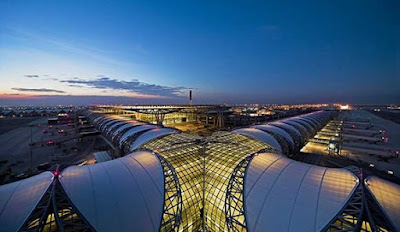 Bangkok International Airport (2.980 ha)