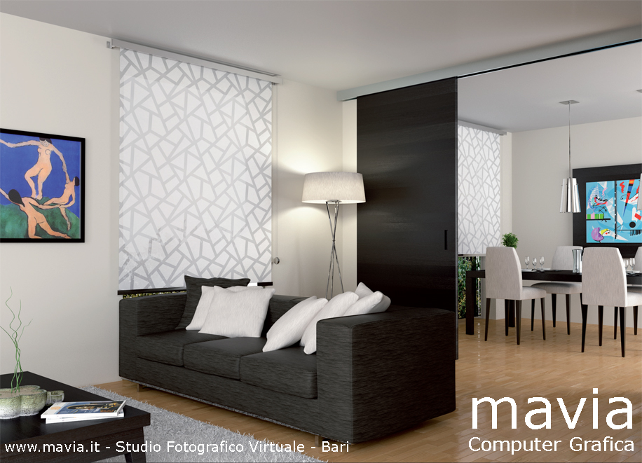 Arredamento di interni interni 3d rendering in cinema 4d for Interni 3d