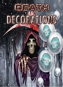 Cover image - Death and Decorations / Thirteen O'Clock Publications
