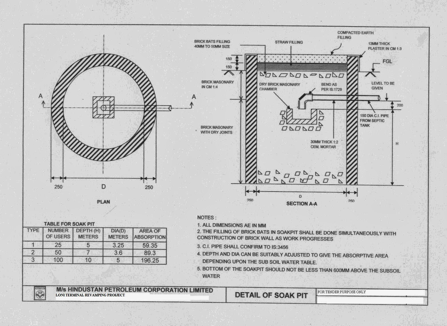Septic Pipe Diagram
