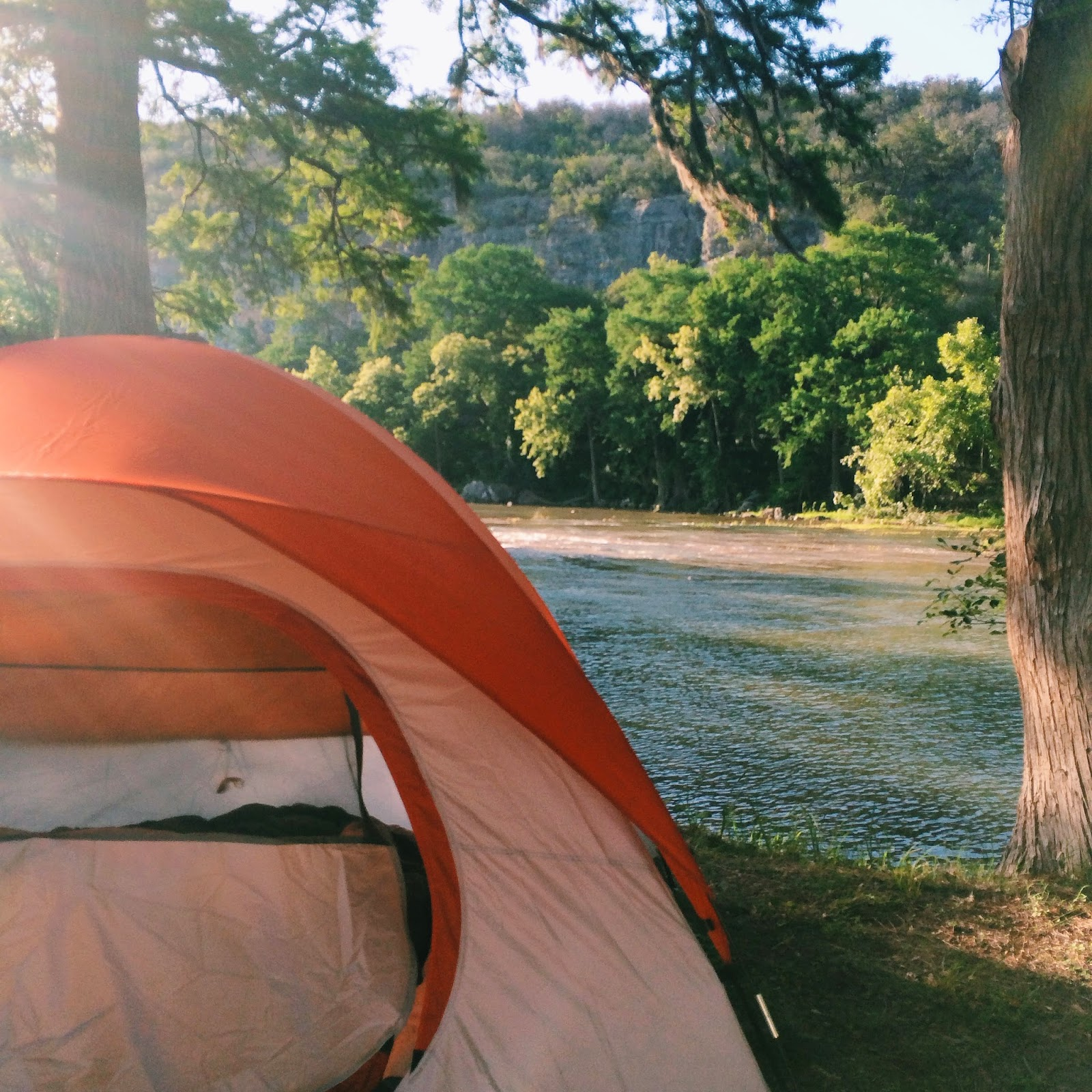 Trendy in Texas / New Braunfels, TX / KL Ranch / Camping / Guadalupe River