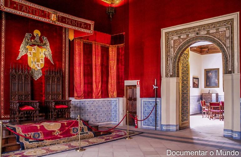 Sala do Trono; Alcázar de Segóvia