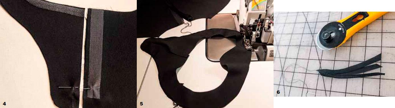 Блузка со складками от горловины