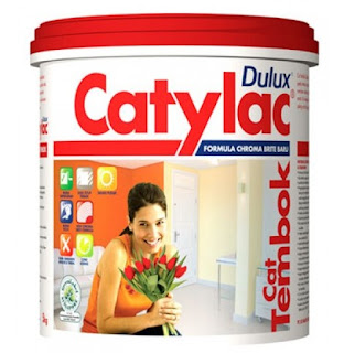 Harga Cat Dulux Catylac Linen White