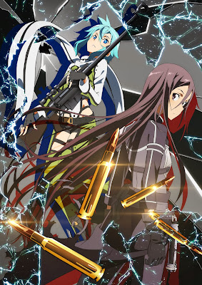 Sword Art Online II Phantom Bullet adaptacion anime 2014
