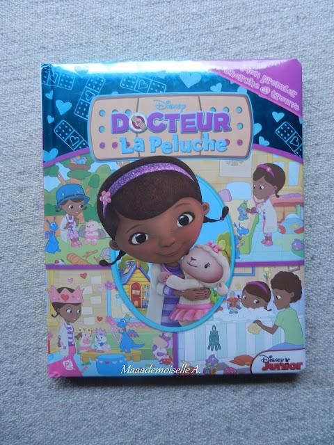 Livre Docteur la Peluche Mon premier cherche et trouve