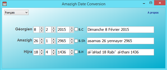 Calendrier Convertisseur.Tala Umaziɣ Convertisseur De Date Amazigh Tamzdate