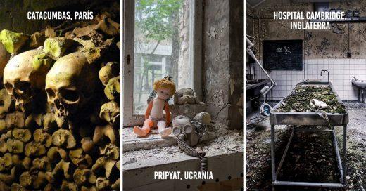 30 lugares terroríficos en el mundo. ¿Los visitarías?