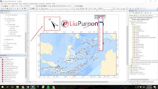 Cara Memutar Arah Utara Dalam Layout Peta Arcgis