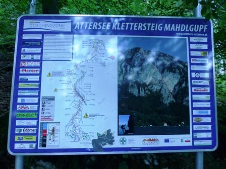 Klettersteig Mahdlgupf : Dr martina rauscher mahdlgupf klettersteig am attersee