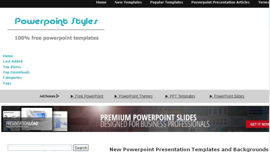 Free Download Template PowerPoint di Powerpointstyles